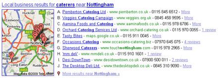 pemberton google local listing